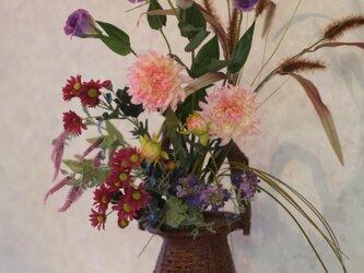 (送料無料)秋草の花束の画像