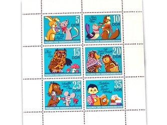 ドイツ未使用切手シート(子供たちの人気者)Germany  DA-STE100の画像