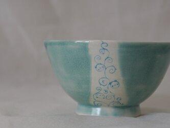 唐草パンダ茶碗の画像