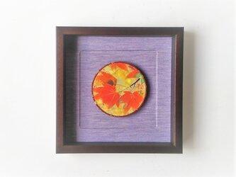 「紅葉」 日本画【木製の額縁入り】の画像