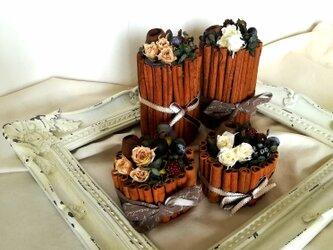 【送料無料】シナモンflower cake(大)の画像