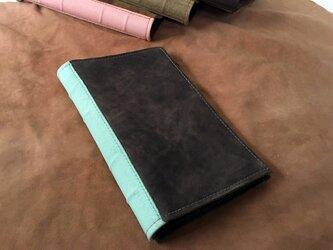 活字狂のための洋古書鞄/マットブラック×リーフグリーンの画像