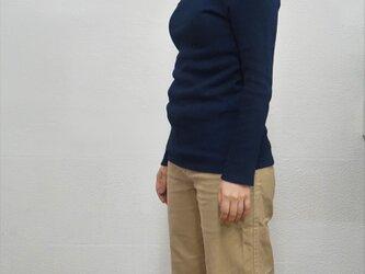 藍染 長袖カットソー size1の画像