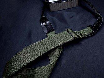 ミリタリーカメラストラップ U.S.ARMY /先端幅7mmミラーレス 小型カメラ用の画像