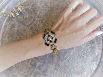 ヴィンテージビジューブレスレット vintage bijou bracelet <BL-RBbk>の画像