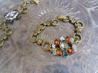 ヴィンテージビジューブレスレット vintage bijou bracelet <BL-RBbr>の画像