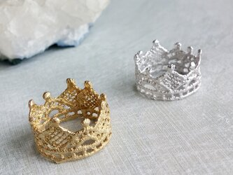 Crown ring (SILVER)の画像