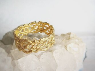 Ears of wheats ring  (gold)の画像