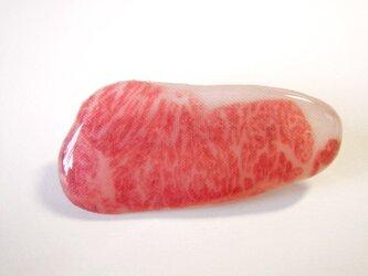 お肉ブローチの画像