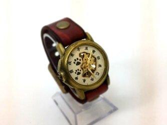 機械式腕時計 肉球の画像