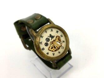 【左利き用腕時計】毬遊びの画像