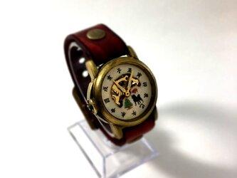 機械式腕時計 サンタ犬の画像