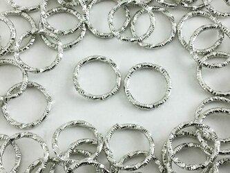 送料無料 デザイン 丸カン シルバー 100個 10mm 銀色 丸カン 丸環 チャーム  ピアス イヤリング AP0383の画像