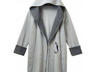 ペンギン スウェットコーディガンの画像