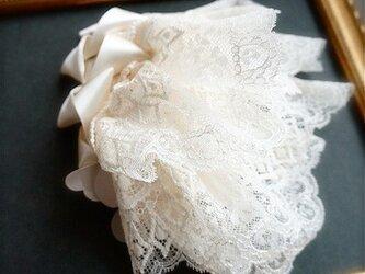 レースレイヤーヘッドドレス/whiteの画像