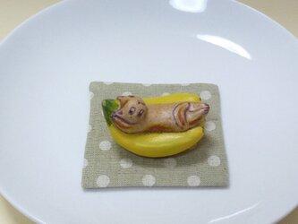 バナナでのんびりの画像