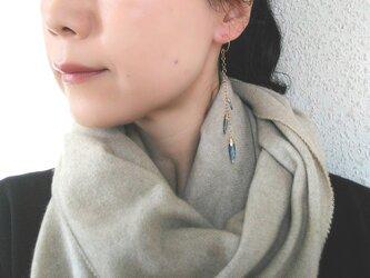kyanite long  pierceの画像