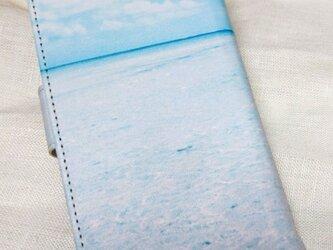 全機種対応 手帳型スマホケース *空と海*の画像