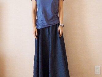 サーキュラースカート デニムの画像