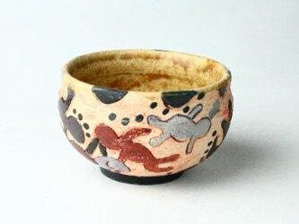 海と人と海藻のカップ/ 湯呑 / 茶器/ 陶器/ 陶芸/ japanese ceramicsの画像