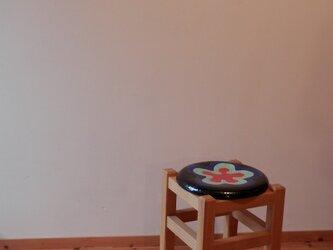 佐合スツール  ・・・陶器とコラボの画像