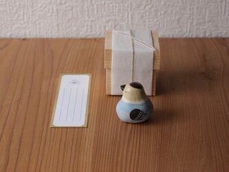 【神無月・新作】伝書鳩(枯茶) ※受注制作 / 国産ヒノキの木箱入りの画像