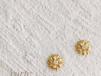 小ぶり vint-flower ピアスorイヤリングの画像