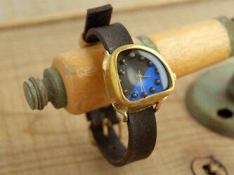 しかくいゆらぎの時計 SQ B-Brown_f Y001_fの画像
