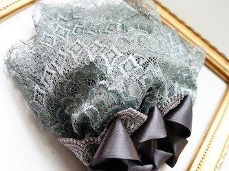 レースレイヤーヘッドドレス/grayの画像