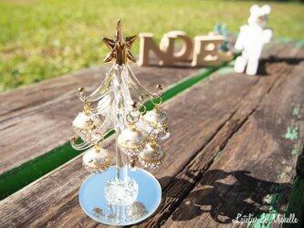 【SALE】クリスマスツリー(クリスタル・オーナメント)の画像