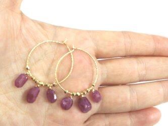 ruby hoop pierceの画像