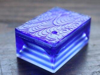 【再販】ガラス製 書道具 水差し「行雲流水」の画像