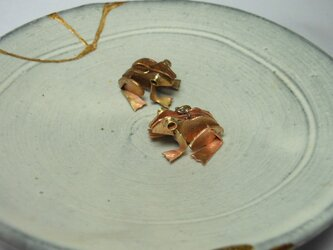 真鍮アマガエル  カエル1の画像