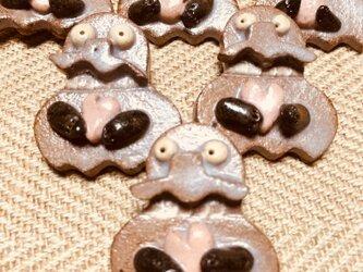 モランのブローチ(ハートを抱えたモランのバッジ)の画像