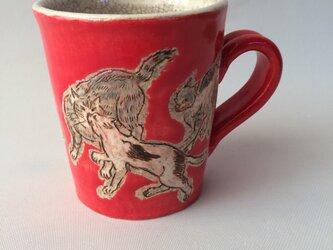 ポップ&レトロなマグカップの画像