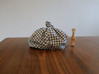 キッズ かぼちゃ帽子の画像