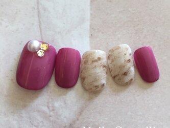 ピンク&マーブルの画像
