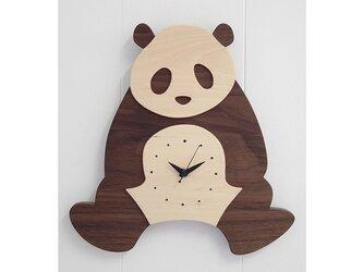 時計 パンダ 前向きの画像