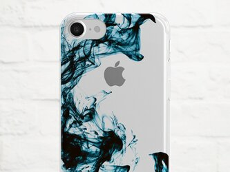 Color Ink in Water クリアソフト ケースの画像