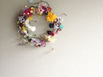 wreath-colorful 1の画像