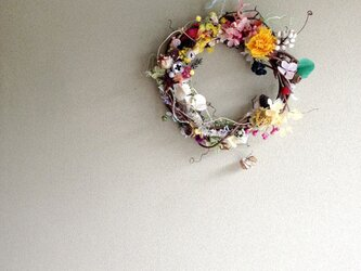wreath-colorful 2の画像
