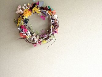wreath-colorful 3の画像