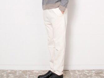 【新色】P0002 吊り天竺パンツ キナリ サイズ3の画像
