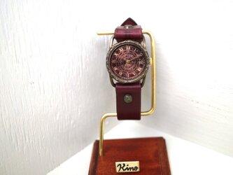 クラック ワールド ローマ Sサイズ 真鍮 ワイン コスモの画像