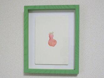 1点物 版画 額付き【Strawberry's portrait Ⅳ】の画像