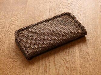 山葡萄財布 斜め網代3.5mmの画像