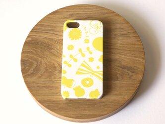 【iPhone/Android】側表面印刷*ハード型*スマホケース「bliss ( yellow )」の画像