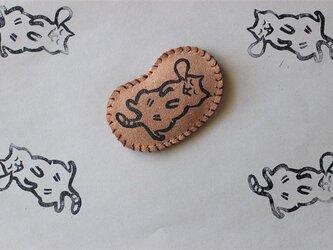 夢見る猫 マグネットの画像