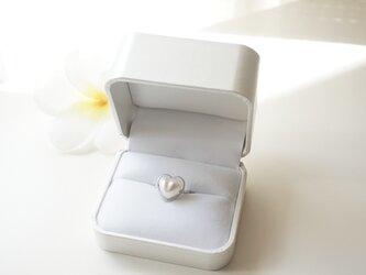 ハートの指輪 (フリーサイズ仕様)の画像