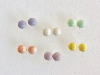 陶maru : ピアス/イヤリング6colorの画像